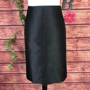 Tahari Skirt 18  Black Straight Knee Cocktail Suit